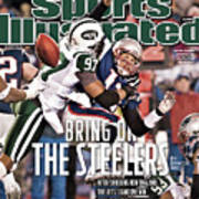 Divisional Playoffs - New York Jets V New England Patriots Sports Illustrated Cover Poster