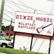 Dixie Music Poster
