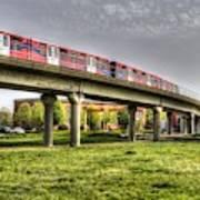 Docklands Light Railway Train  Poster
