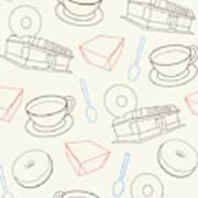 Doughnut_wallpaper_f3 Poster