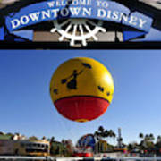 Downtown Disney Tribute Poster 2 Poster