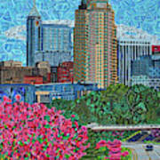 Downtown Raleigh Poster