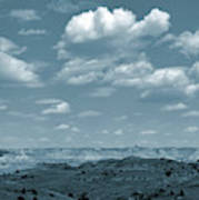 Drifting Clouds And Shifting Shadows Poster