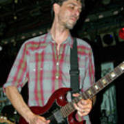 Drive By Truckers Guitarist Mike Cooley Poster