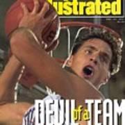 Duke University Christian Laettner Sports Illustrated Cover Poster