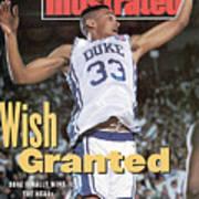 Duke University Grant Hill, 1991 Ncaa National Championship Sports Illustrated Cover Poster