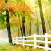 Early Autumn Morning Poster