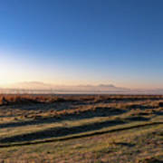Early Morning Sunrise In Clarens Poster