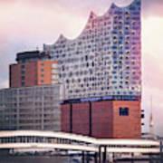 Elbphilharmonie Hamburg Germany  Poster