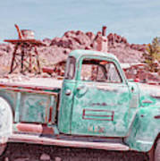 Eldorado Ghost Town Searchlight Nevada Pano Poster