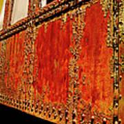 Elegant Rust Number 2 Poster