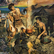 Esau Sells His Birthright Poster