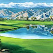Escena Golf Club Poster