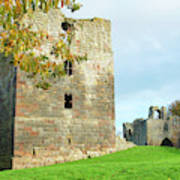 Etal Castle Tower And Gatehouse Poster