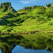 Fairy Glen, Isle Of Skye Poster