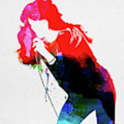 Faith Hill Watercolor Poster