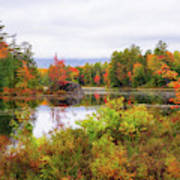 Fall In Nh Poster