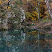 Fall In The Ozarks Poster