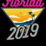 Family Vacation 2019 Florida Poster