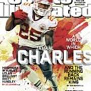 Fantasy Defies Reality A World In Which Jamaal Charles And Sports Illustrated Cover Poster