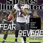Fear The Bird, Revere The Bird Super Bowl Xlvii Champs Sports Illustrated Cover Poster