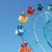 Ferris In Spring Park Poster
