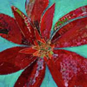 Fiery Bromeliad I Poster