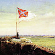 Flag Of Fort Sumter Poster
