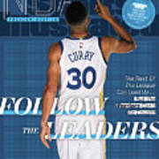 Follow The Leaders 2017-18 Nba Basketball Preview Sports Illustrated Cover Poster