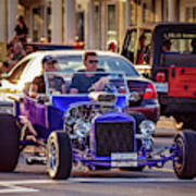 Ford T-bucket Hot Rod Poster