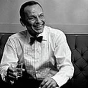 Frank Sinatra Backstage At The Sands Poster