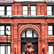Freemason's Hall Historic Savannah Poster