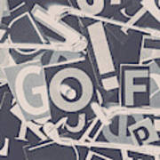 Game Of Golf Poster