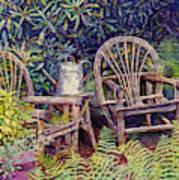 Garden Retreat Poster