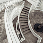 Getty Stairs Poster