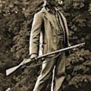 Gettysburg Battlefield - John Burns Poster