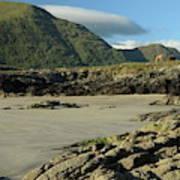 Glassilaun Beach Connemara Poster