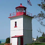 Goderich Lighthouse Poster