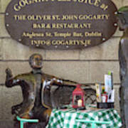 Gogarty And Joyce Statues One Poster