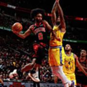 Golden State Warriors V Chicago Bulls Poster