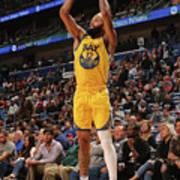 Golden State Warriors V New Orleans Poster