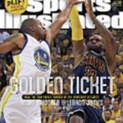 Golden Ticket How The Nba Finals Turned On The Matchup Sports Illustrated Cover Poster