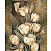 Golden Tulips    Poster