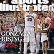 Gonzaga Rising Sports Illustrated Cover Poster
