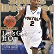 Gonzaga University Jeremy Pargo, 2009 Ncaa South Regional Sports Illustrated Cover Poster