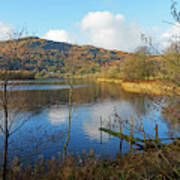 Grasmere In Late Autumn In Lake District National Park Cumbria Poster