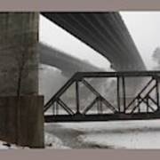 Gray Day Bridging Poster