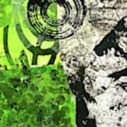 Green Balance No. 3 Poster