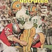 Green Bay Packers Jim Taylor And Forrest Gregg Sports Illustrated Cover Poster