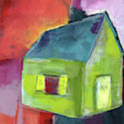 Green House- Art By Linda Woods Poster